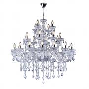 Lustre de cristal Nice 28 Transparente 140240015 E14 Bivolt