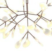 PENDENTE TWING 15W LED 3000K BRANCO QUENTE PE-071/48.30BRO BRONZE