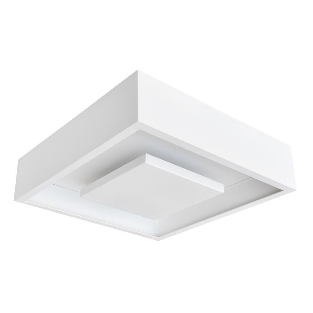 Plafon Sobrepor Quad LED 24W DL082WW Hide  - OUTLED ILUMINAÇÃO