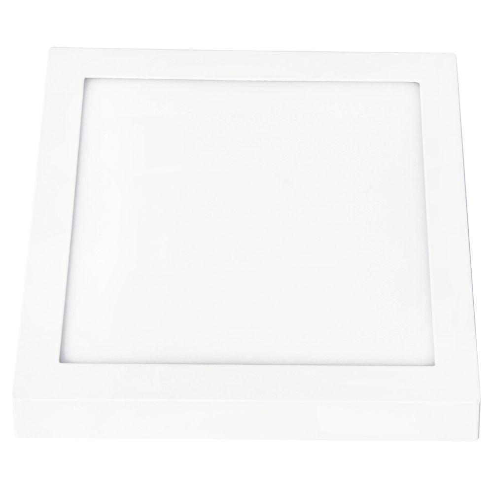 Plafon 30w 3000k LED Sobrepor Quadrado Smart Branco Quente 3000k DL101WW  - OUTLED ILUMINAÇÃO