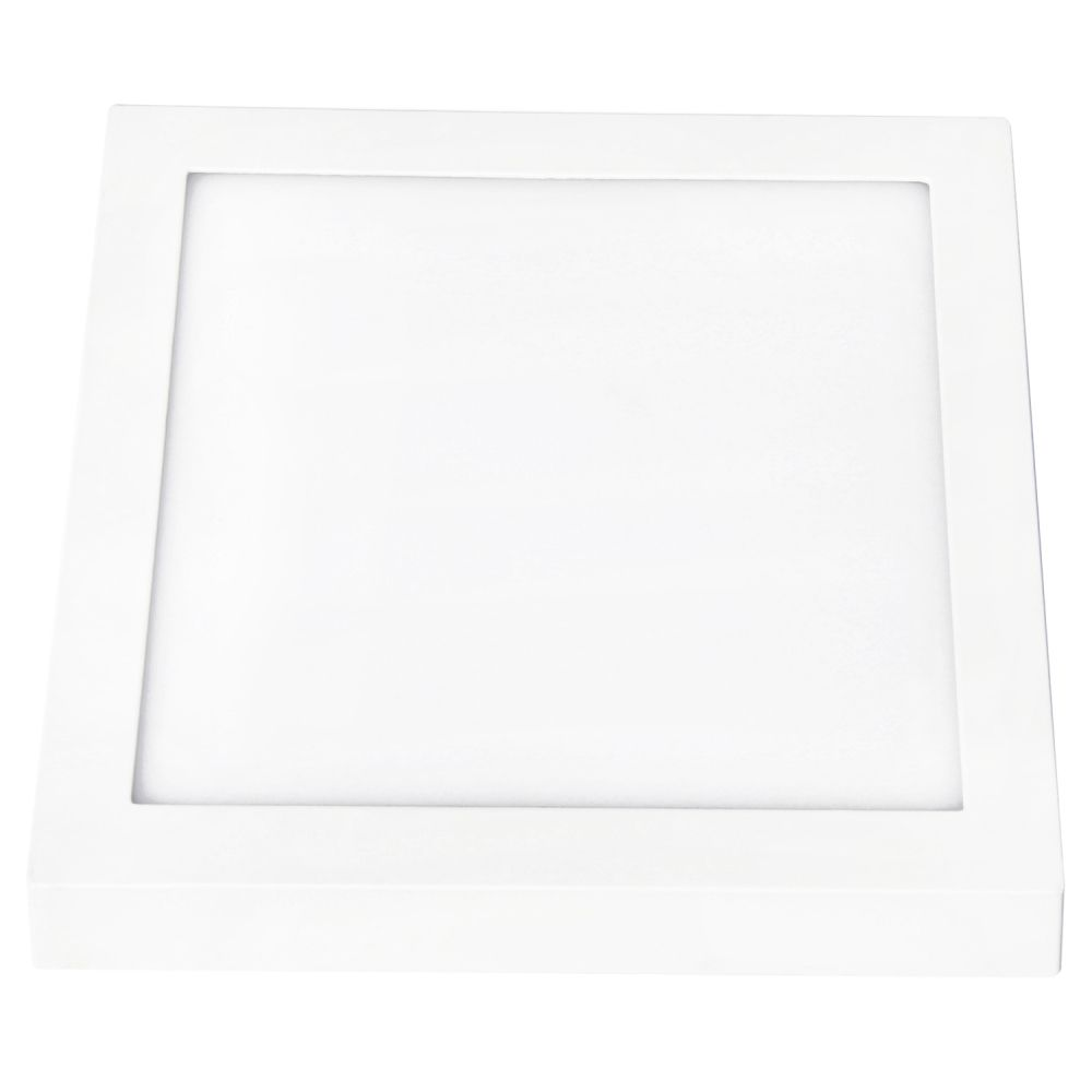 Plafon 48w LED Sobrepor 3000k Quadrado Smart Branco DL103WW  - OUTLED ILUMINAÇÃO