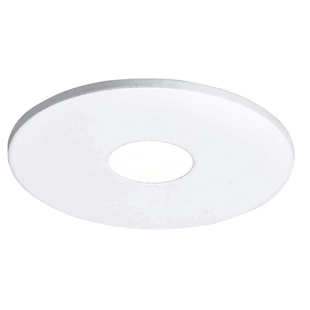Spot 3w 3000k LED Embutir Redondo Alumínio Escovado NS1004AL FIT  - OUTLED ILUMINAÇÃO