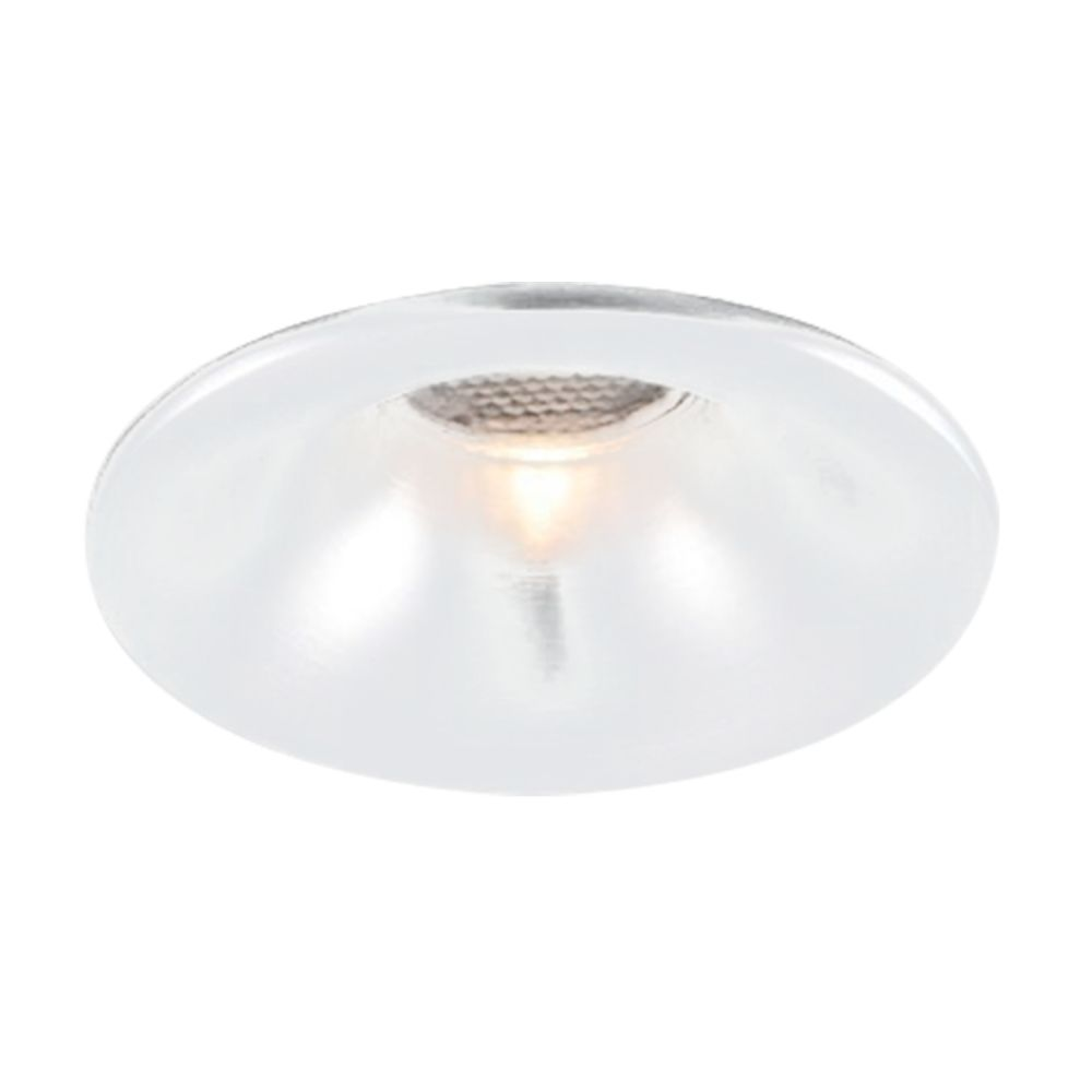 Spot 3w 3000k LED Embutir Redondo Branco NS1008L FIT  - OUTLED ILUMINAÇÃO
