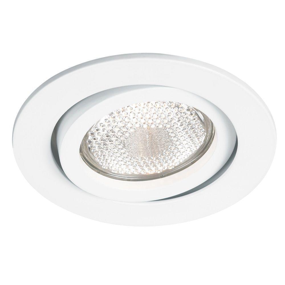 Spot AR111 Embutir Redondo Slim Branco NS311R  - OUTLED ILUMINAÇÃO