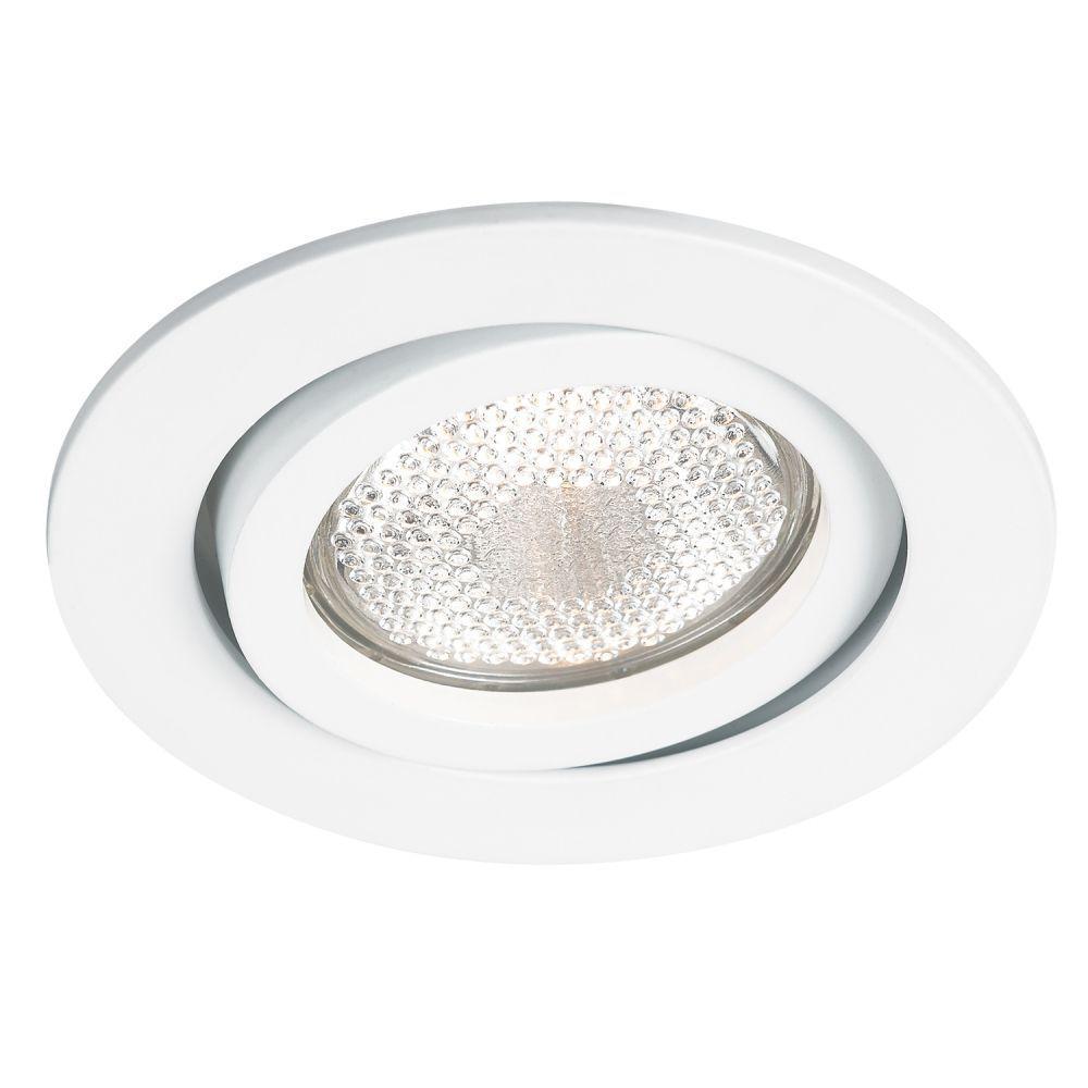 Spot AR70 Embutir Redondo Slim Branco NS370R  - OUTLED ILUMINAÇÃO