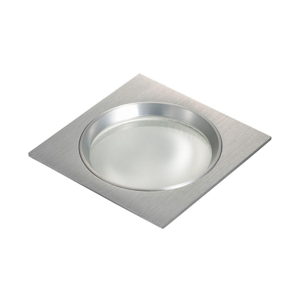 Spot G9 Embutir Quadrado Alumínio Escovado NS5901A FIT  - OUTLED ILUMINAÇÃO