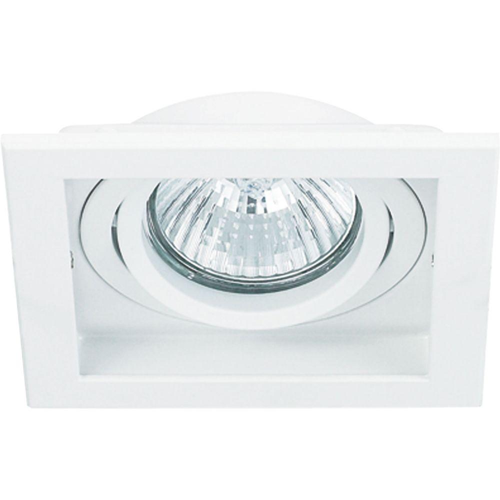 Spot AR111 Embutir Quadrado Conecta Branco NS7111B