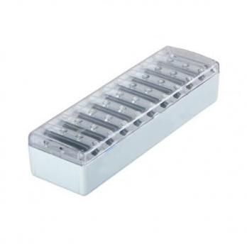Luminaria 30 LED Luz Emergencia Recarregável Bivolt  - OUTLED ILUMINAÇÃO