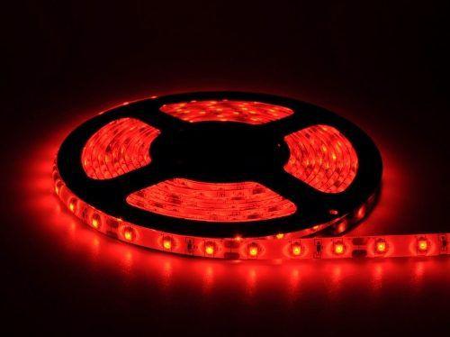 Fita LED 12v Vermelho 3528 24w 300 Leds IP65 5 Metros  - OUTLED ILUMINAÇÃO