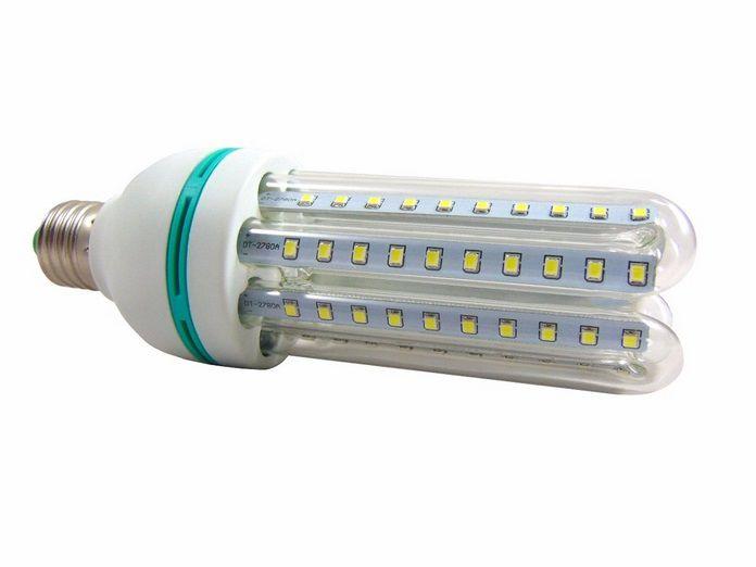 Lampada 16w 3000k LED Econômica Milho Bivolt Branco Quente  - OUTLED ILUMINAÇÃO