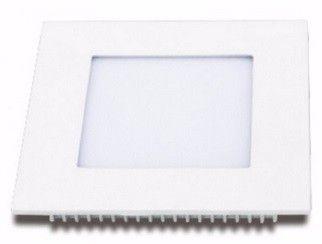 Plafon LED 12w 3000k Painel Embutir Quadrado Bivolt Branco Quente  - OUTLED ILUMINAÇÃO