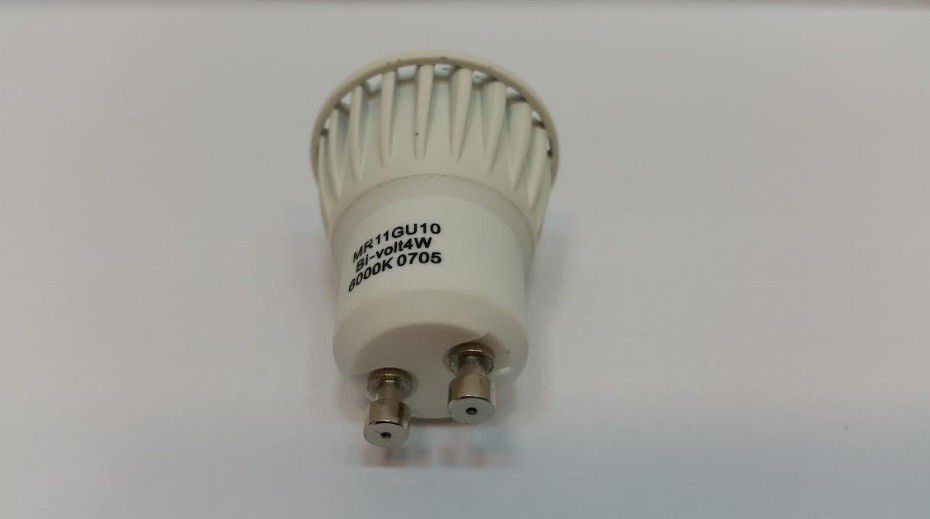 Lampada Led MINI DICROICA 3w 6000k Mr11 Gu10 Branco Frio  - OUTLED ILUMINAÇÃO