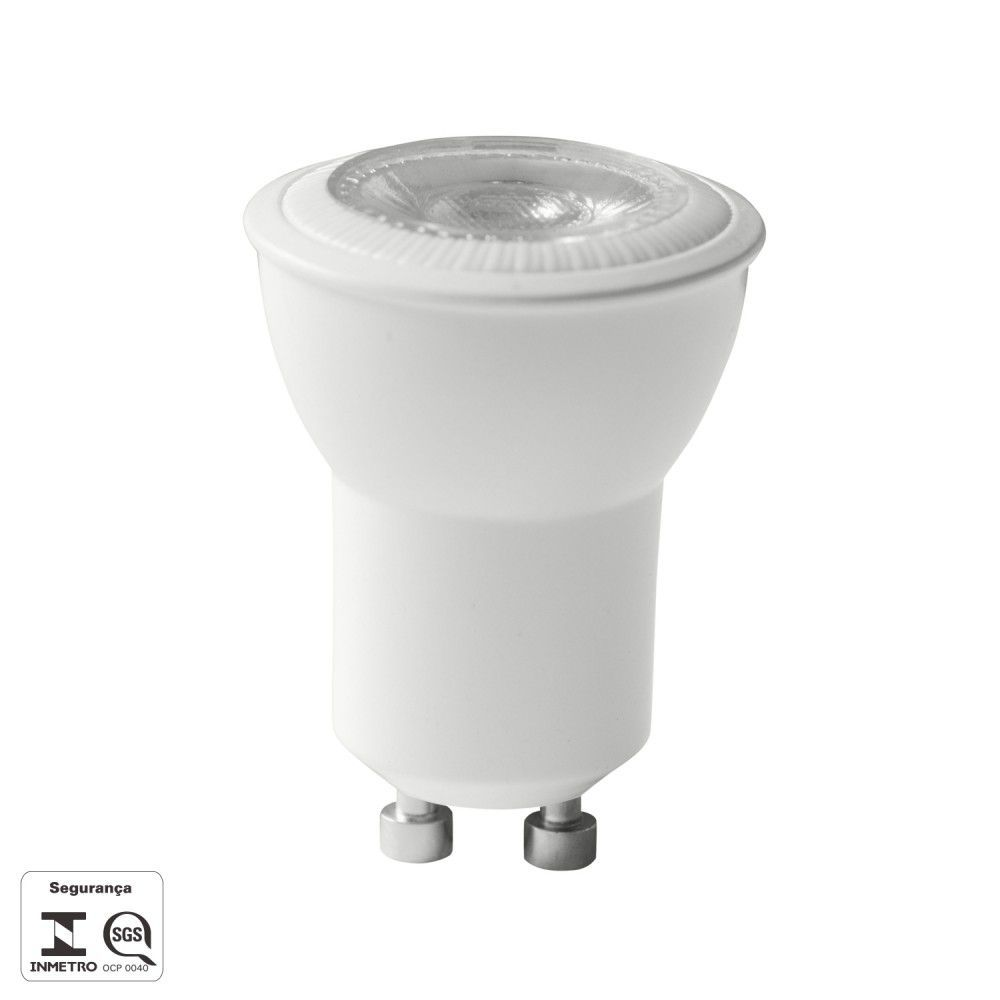 LAMPADA LED MR11 MINI DICROICA GU10 4W 250LM 3000K RA>80 38° BIV LP213C