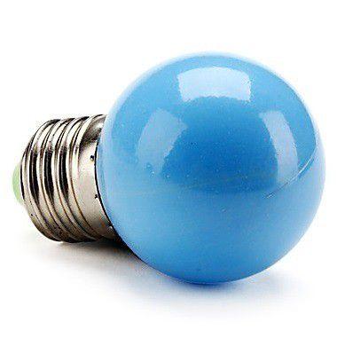 Lampada LED 1w 127v Bolinha Azul