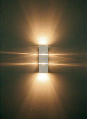 Arandela Parede 2xG9 Aluminio com Vedação Externa Piuluce 5117  - OUTLED ILUMINAÇÃO