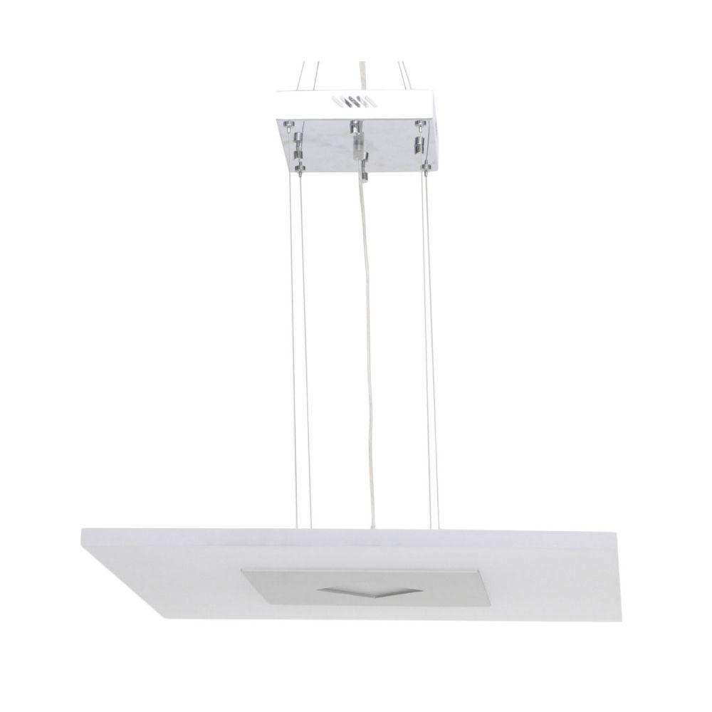 Lustre 25w 3000k LED Pendente em Aluminio Acrilico ZU008L Bivolt  - OUTLED ILUMINAÇÃO