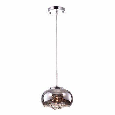Lustre 22cm Lampada G9 Pendente Soho Pd007CR Cromado Espelhado