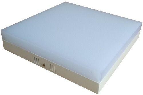 Plafon LED 25w 3000k Painel Acrílico Sobrepor Quadrado Branco Quente  - OUTLED ILUMINAÇÃO