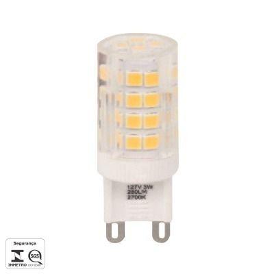 Lampada Led Halopin G9 3w 260lm 2700k 127v Bella LP160CA  - OUTLED ILUMINAÇÃO