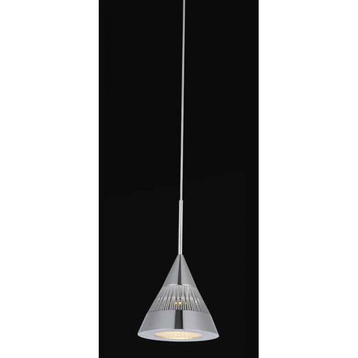 Pendente 5w 3000k LED Strano Aluminio JD001 Branco Quente  - OUTLED ILUMINAÇÃO