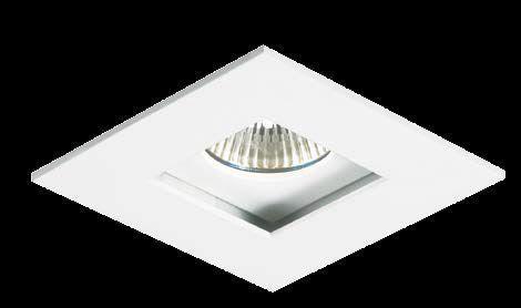 Spot MINIDICROICA GU10 Embutir Quadrado MR11 Recuado NS235Q  - OUTLED ILUMINAÇÃO