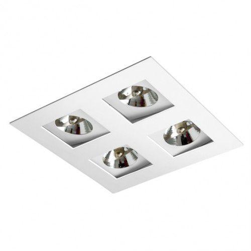 Luminaria AR70 Embutir BL1222/4 para 4 Lampada Bella Luce  - OUTLED ILUMINAÇÃO