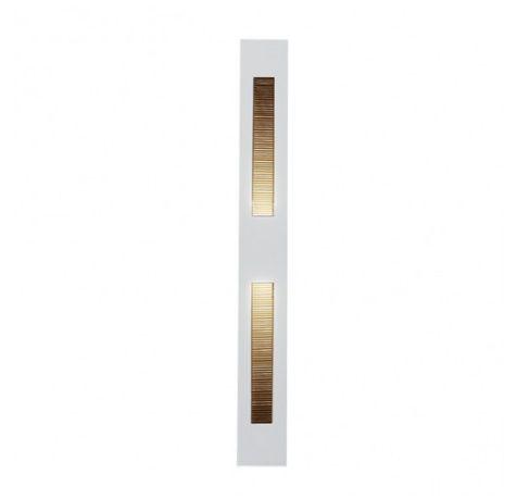 Balizador G9 Parede Embutir BL6008P Branco Fosco Bella Luce  - OUTLED ILUMINAÇÃO