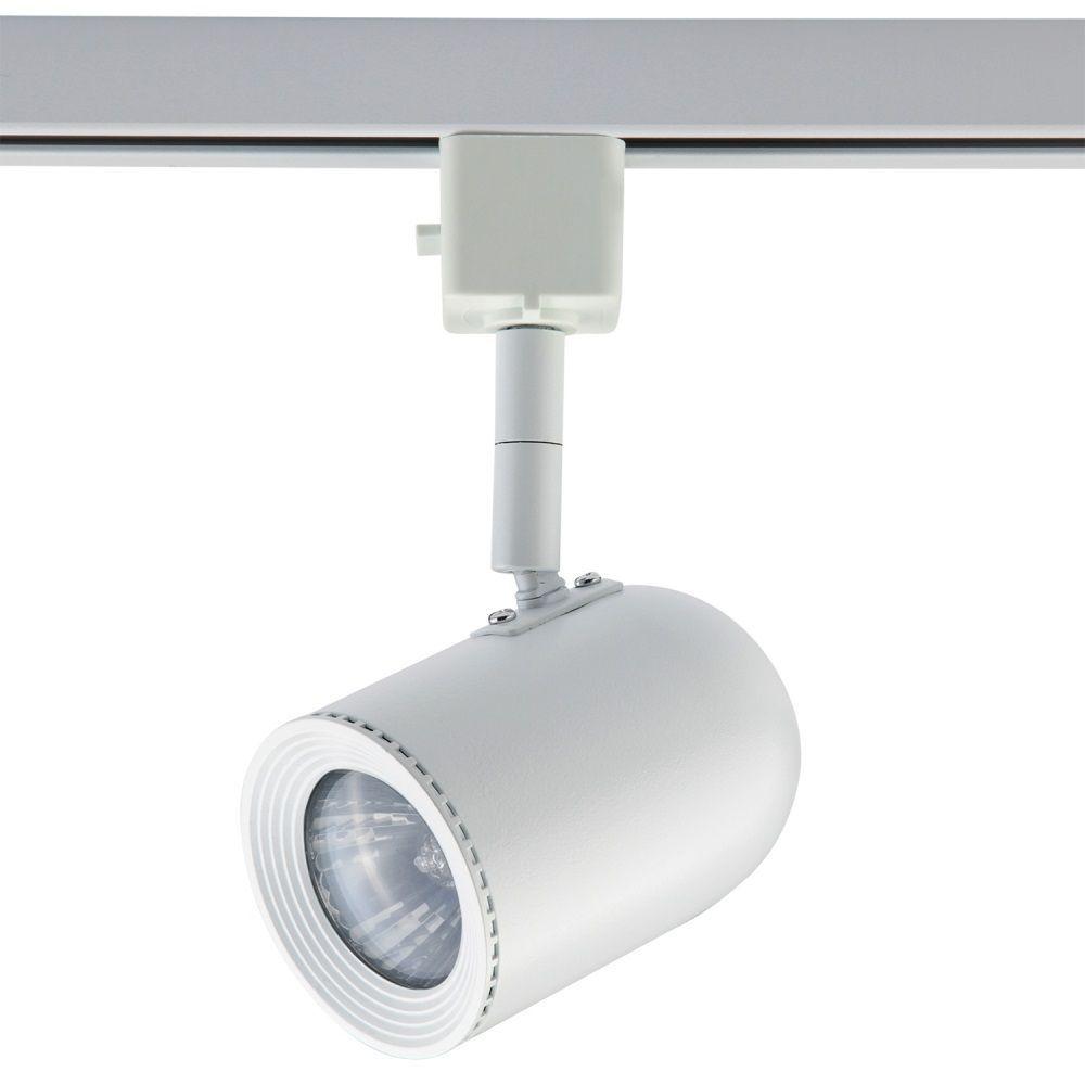 Spot Dicroica MR16 GU10 Para Trilho Eletrificado DL034B Branco