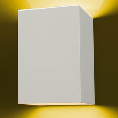 Arandela Lisa em Alumínio Branca Flash 980-TV Ideal  - OUTLED ILUMINAÇÃO