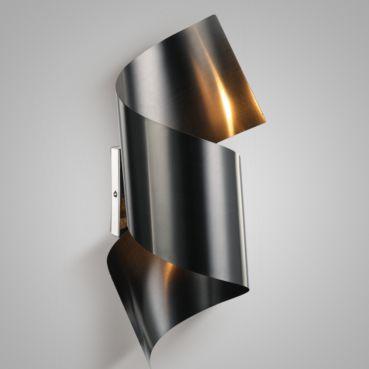 Arandela Steel Preto Fosco AR-087/2.115PF  - OUTLED ILUMINAÇÃO
