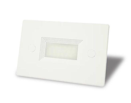 Balizador 3w 3000k Embutir Externo Caixa de Luz 4x2 IP65 Branco Quente  - OUTLED ILUMINAÇÃO