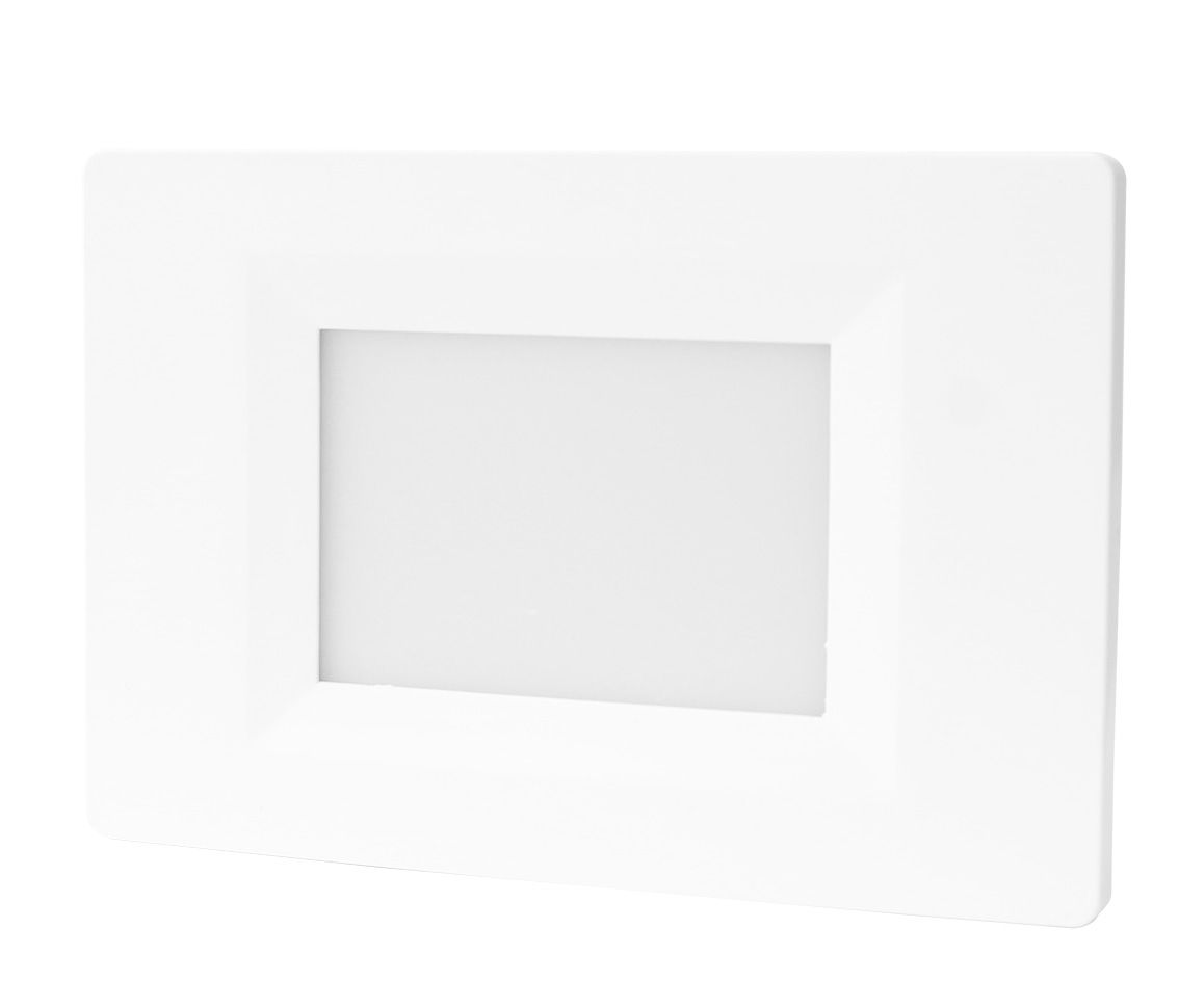 Balizador de Parede Embutir LED 2W 6500K Bivolt IP20 ECO 34119  - OUTLED ILUMINAÇÃO
