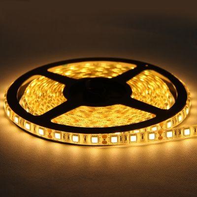 Fita LED 12v 2700k Branco Quente 4.8W/M 24w IP65 / 5 Metros LP060  - OUTLED ILUMINAÇÃO