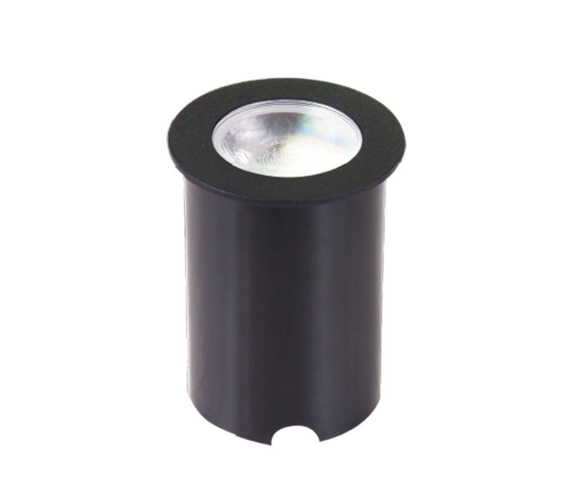 Kit 22 Luminária Balizador Embutida de Solo 4.5w 3000k Branco Quente Bivolt Pro 33594  - OUTLED ILUMINAÇÃO