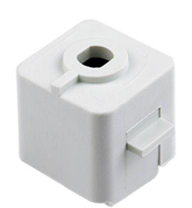 Kit 15 Adaptador Para Trilho Eletrificado Branco DL022B  - OUTLED ILUMINAÇÃO