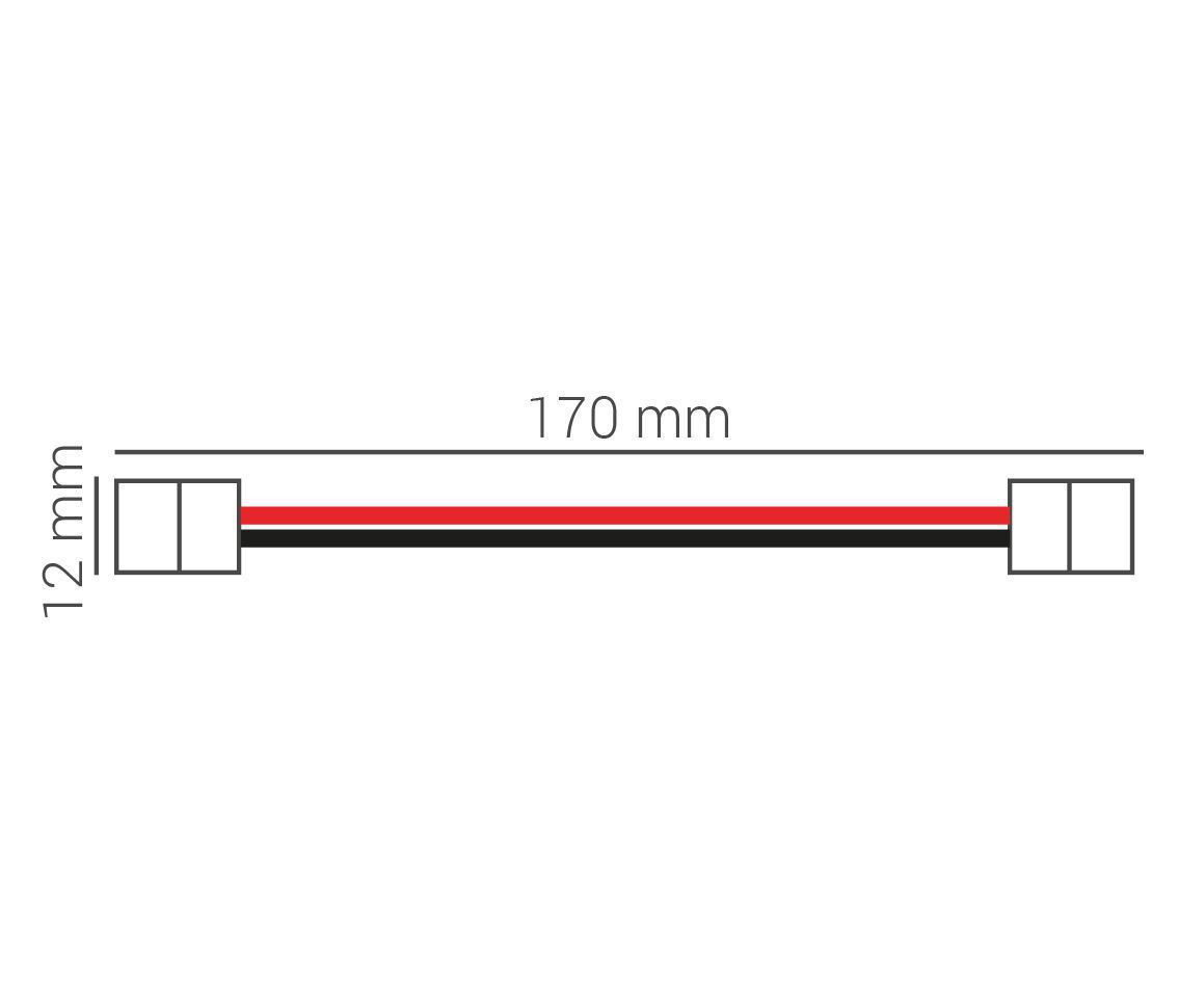 Kit Conector De Fita Led 12v 3528 Ac32108  - OUTLED ILUMINAÇÃO