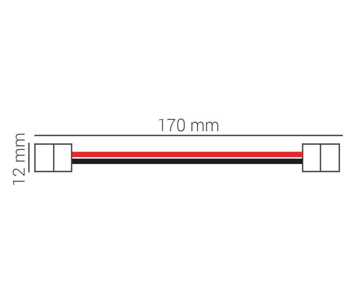 Kit Conector De Fita Led 12v 5050 Ac32115
