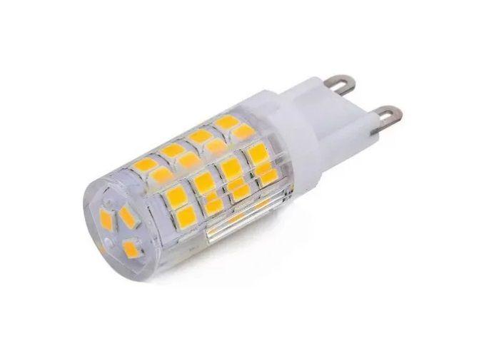 Lampada 5w 3000k 220v LED G9 Bipino Halopin Branco Quente Encapsulada  - OUTLED ILUMINAÇÃO