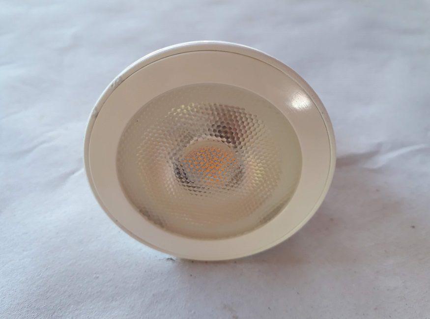 Lampada 7w 3000k LED PAR20 Branco Quente