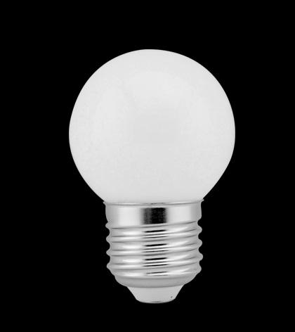 LÂMPADA BOLINHA BULBO 2,5W LED 2700K BRANCO QUENTE G45 E27 BIVOLT LP 31170