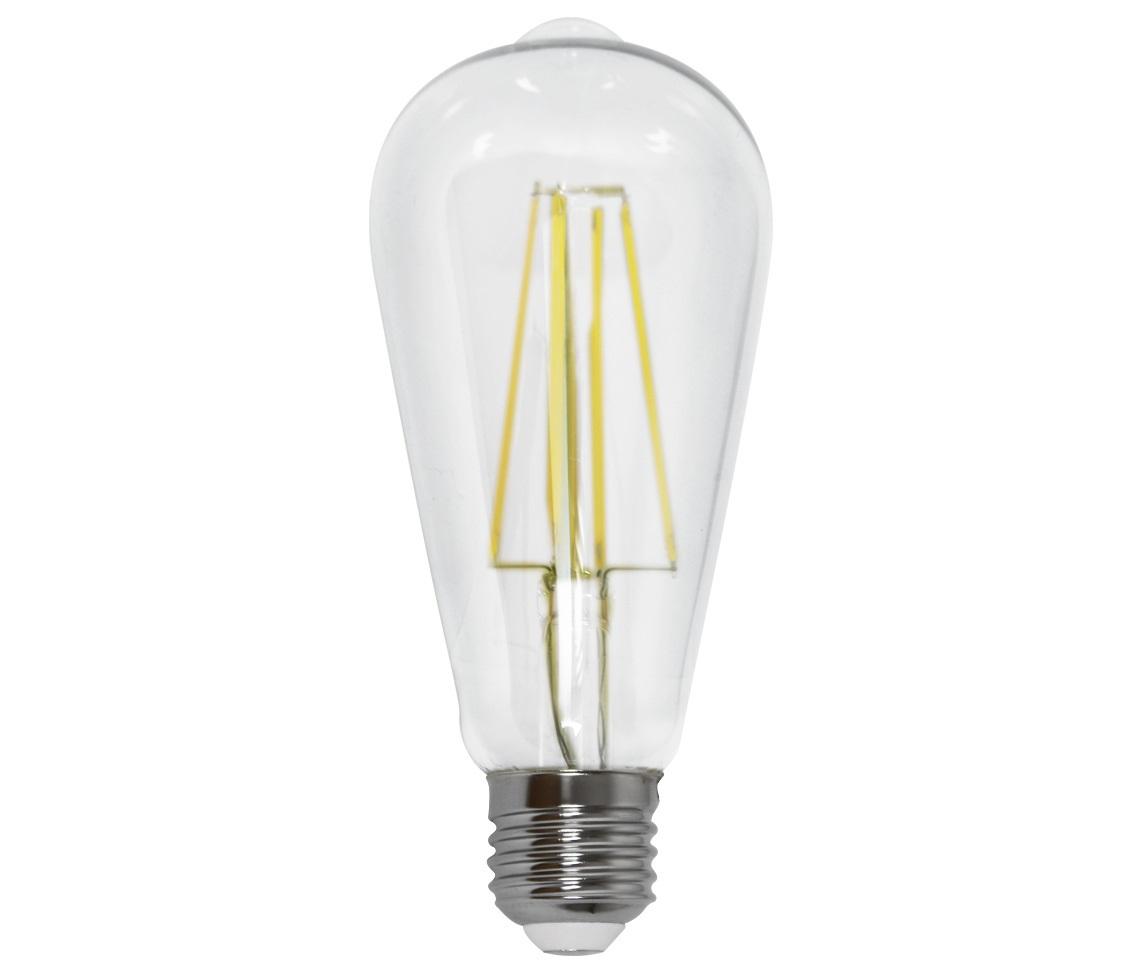 Lâmpada Filamento 4w Led 2700k Branco Quente ST64 E27 Bivolt LP 34836