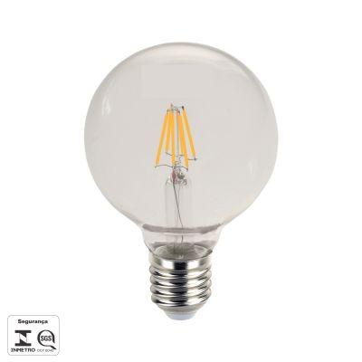Lampada Filamento De Led Bulbo E27 8w 800lm 2700k Biv Lp183c  - OUTLED ILUMINAÇÃO