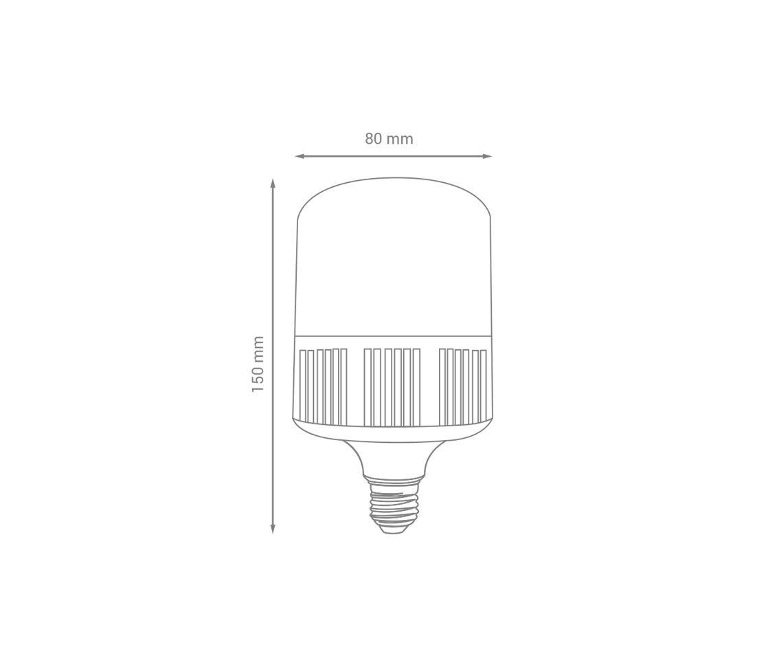 Lâmpada Led 16w 6500k Bulbo-T Branco Frio E27 Bivolt Lp32856