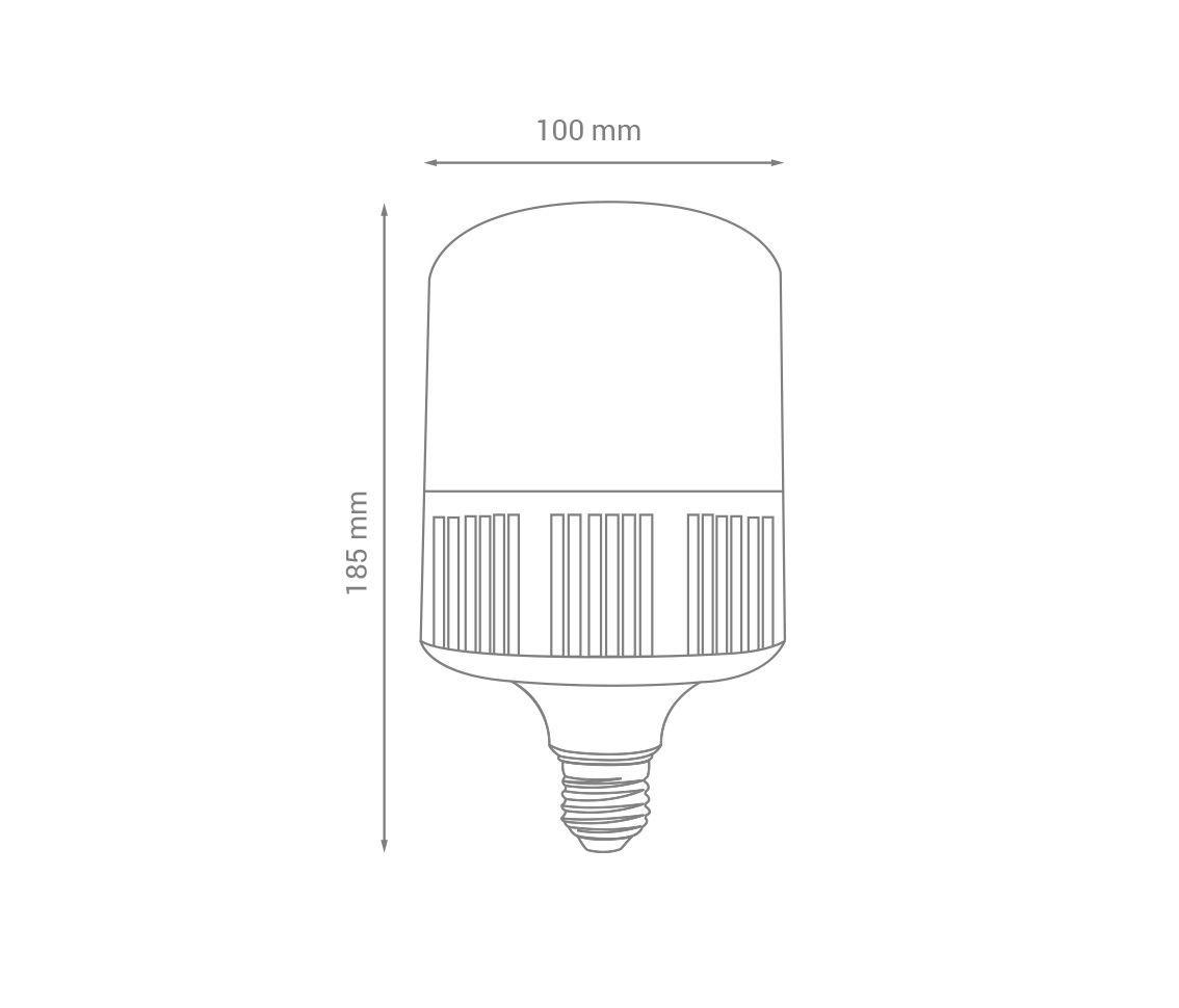 LAMPADA BULBO T LED 22W 6500K BIVOLT LP32863 OPUS