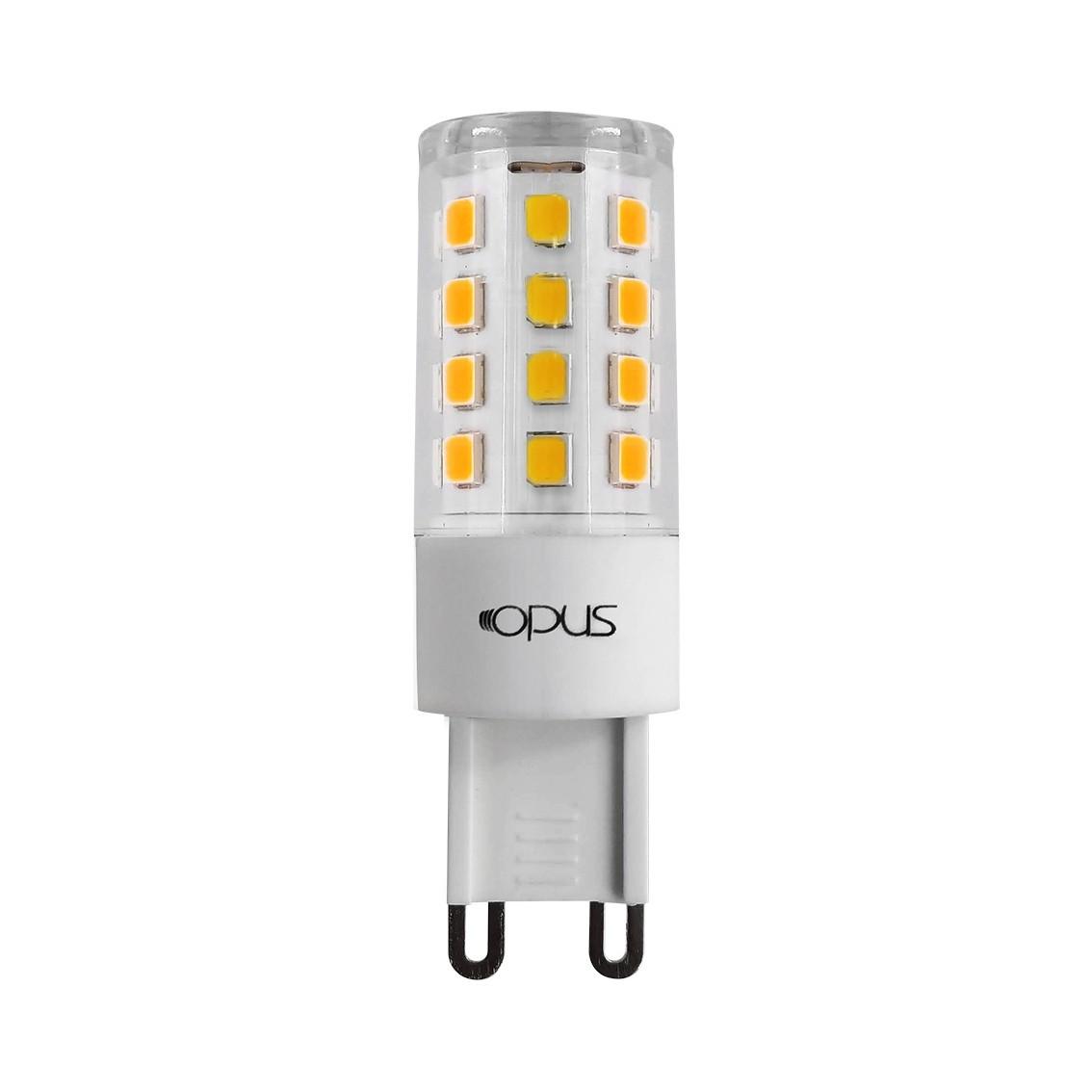 LÂMPADA LED 3,5W 3000K BRANCO QUENTE G9 127V LP39923