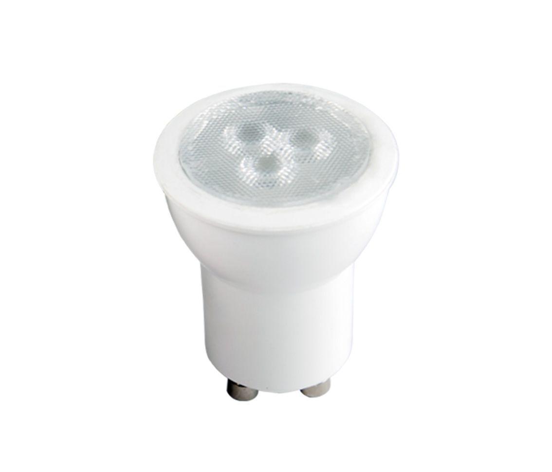 LÂMPADA LED MINI DICROICA 3.5W 6000K MR11 BRANCO FRIO GU10 BIVOLT LP37110