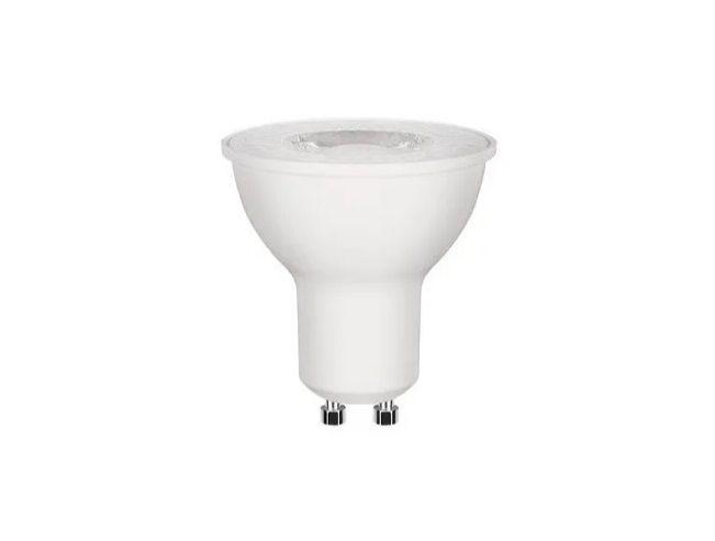 Lampada LED 3w 3000k GU10 MR16 Dicroica Bivolt Branco Quente