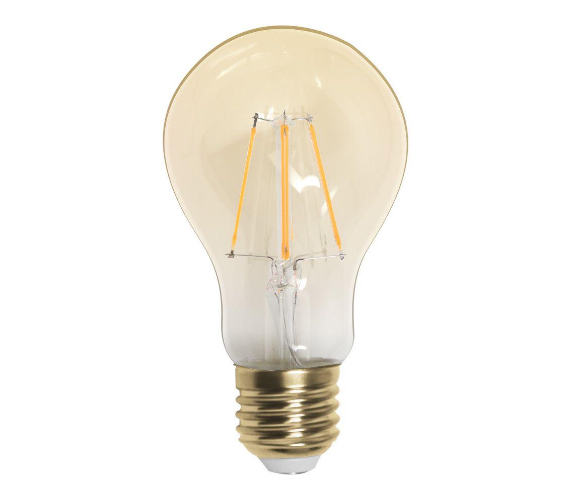 Lâmpada Led 4w 2200k Branco Quente Bulbo A60 Carbon E27 Bivolt LP33365