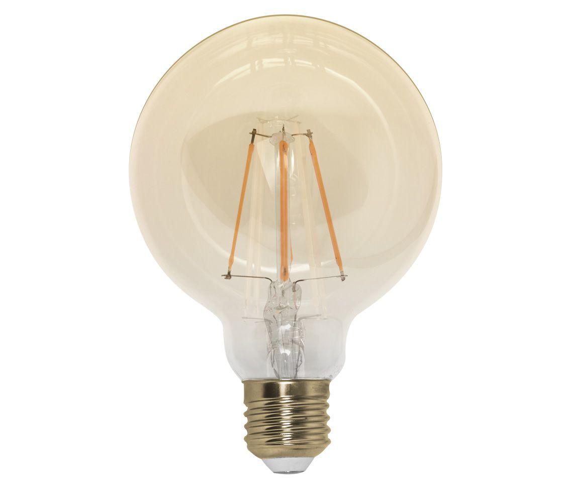 Lâmpada Led 4w 2200k Branco Quente G95 Carbon E27 Bivolt LP33341