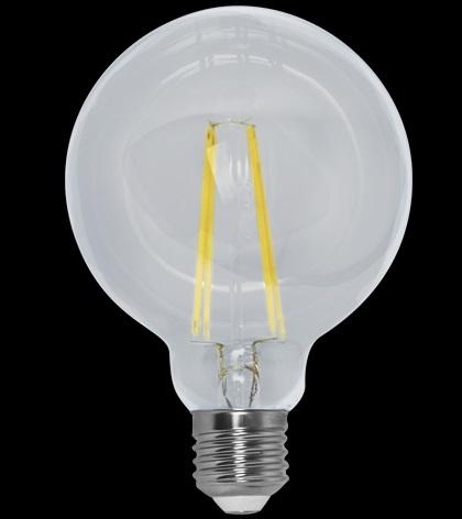 Lampada Led 4w 2400k Branco Quente G95 Filamento E27 Bivolt LP34829